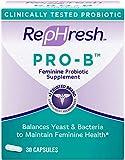 RepHresh Pro B Probiotic Supplement for Women, 30 Oral Capsules