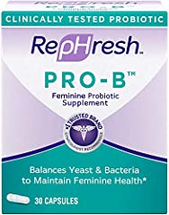 Clinically tested probiotic #1 Trusted Brand Gynecologist Recommended brand