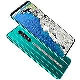 DZSWDTQ Smartphone ultradelgado de 5,8 Pulgadas, 4G, 6GB + 128GB, 8MP + 16MP, 4000mah, Android 9.0, reconocimiento Facial-Gradient Green
