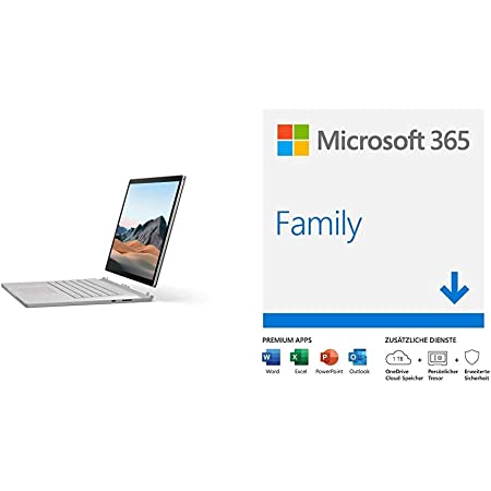 Microsoft Surface Laptop 3 15 Zoll Laptop Platin Computer Zubehör
