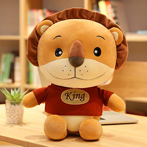N / A 50cm Cute Simba The Lion King Peluches Anime Movie Soft Stuffed Animal Doll para niños Regalo de cumpleaños para niños 50cm