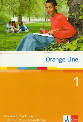 Orange Line 1: Workbook Plus Fördern mit Audio-CD und Lernsoftware Klasse 5 (Orange Line. Ausgabe ab 2005)