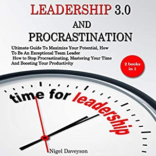 Leadership 3.0 and Procrastination: 2 Books in 1 cover art