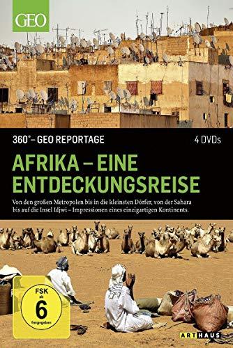360° - GEO Reportage: Afrika - Eine Entdeckungsreise [4 DVDs]