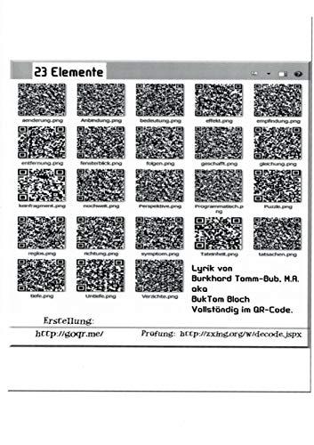 23 Elemente: Verständliche Lyrik komplett im QR-Code