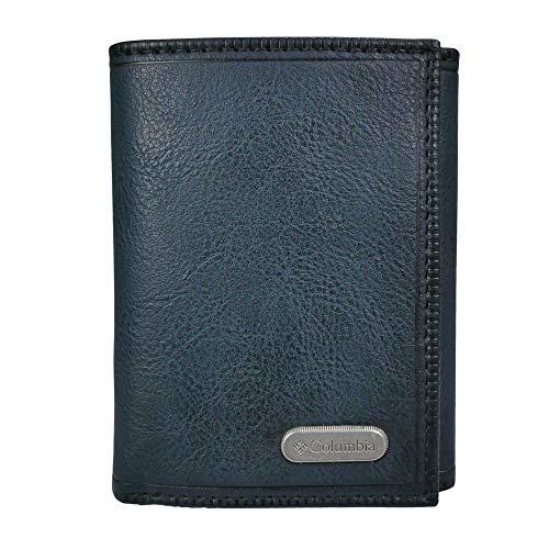 Columbia Men's RFID Trifold Wallet, Black Joe, One Size