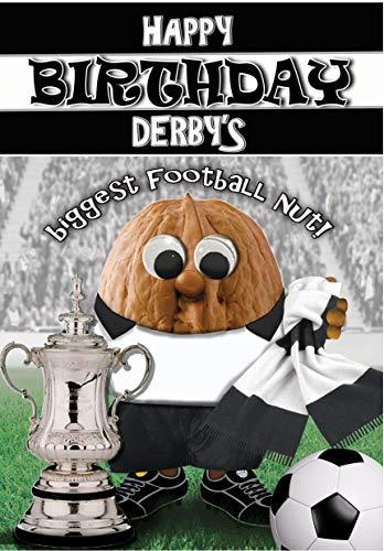 Birthday Card – Derby County - Football Sports Nut