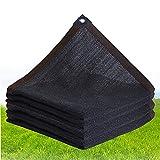 Shade Net, Sun Shade Sail, Cubiertas De Invernadero Cubiertas Sombrero Sombra Net Tarp para Al Aire Libre Jardín Planta,8 Needle,3 * 15