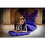 Enchantails - Mermaid Tail Sleeping Bag (Purple) - Includes: Bag, Pillow, & Case