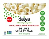 Daiya Cheezy Mac, Four Cheeze Style with Herbs :: Rich & Creamy Plant-Based Mac & Cheese :: Deliciously Dairy Free, Vegan, Gluten Free, Soy Free :: With Gluten Free Noodles, 10.6 Oz. Box (2 Pack)