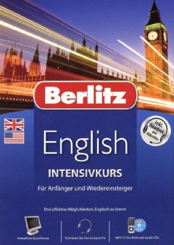 Berlitz Intensivkurs Englisch incl. Headset