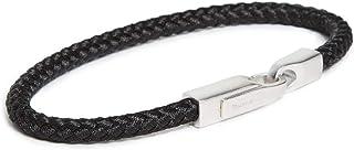 Miansai Men's Crew Rope Bracelet, Solid Black, Large