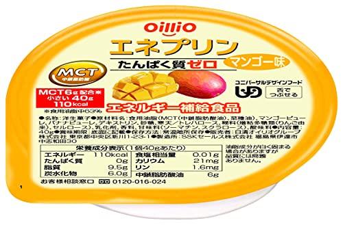 日清オイリオ エネプリン マンゴー味 40g