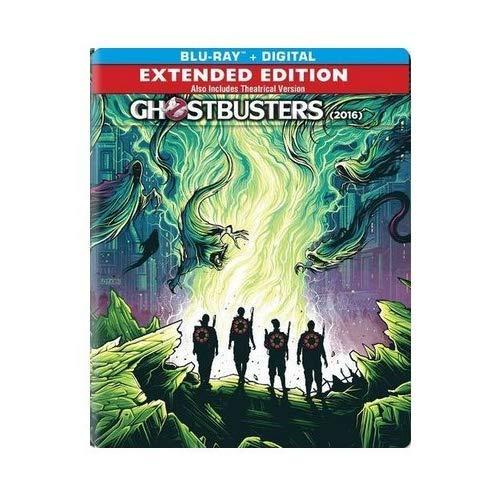 Ghostbusters 2016 Pop Art Project Limited Edition Steelbook Blu-ray/Digital