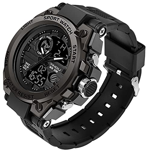 Men's Military Watch Outdoor Sports Electronic Watch...