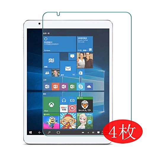 【4 Pack】 Synvy Screen Protector for Teclast X98 Air 3G 9.7' TPU Flexible HD Clear Case-Friendly Film Protective Protectors [Not Tempered Glass] New Version