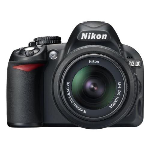 Nikon D3100 + Obiettivo Af-S Dx 18-55 VR [Versione EU]
