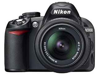 Nikon D3100 SLR-Digitalkamera (14 Megapixel, Live View, Full-HD-Videofunktion) Kit inkl. AF-S DX 18-55 VR Objektiv schwarz (B00403MA4M) | Amazon price tracker / tracking, Amazon price history charts, Amazon price watches, Amazon price drop alerts