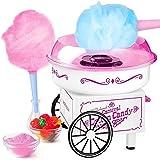 ZJZ Cotton Candy Machine Maker Selbstgemachte Marshmallow-Maschine zum Grillen Kinder Geburtstag