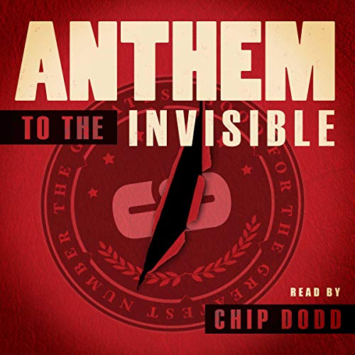 Anthem to the Invisible audiobook cover art
