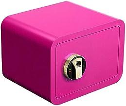 LLRYN for Home Smart Alarm System Cash Jewelry Cabinet Fingerprint Unlocking File Security Box (Size : 35 * 25 * 25cm) (Co...