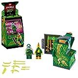 LEGO NINJAGO, Avatar Lloyd - Capsule Arcade, Set de jeu portatif, Jouets de collection Prime Empire Ninja pour enfants, 104 pièces, 71716