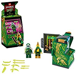 Features an opening arcade pod with storage for ninja figures, their weapons and accessories, and new-for-January 2020 buildable minifigures Includes 2 minifigures: Digi Lloyd and exclusive to this playset Avatar Lloyd with a bat, who can be dressed ...