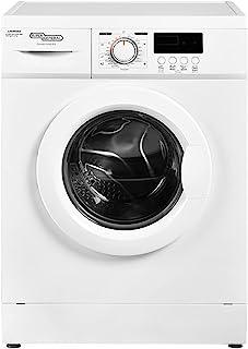 Super General 6 kg Front Loading Washing Machine 6100-NLED, 1000 RPM Washer, Energy-Saving, White, 23 Programs, 1 Year War...