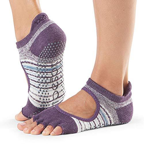Toesox Bellarina - Calcetines Antideslizantes para Ballet, Yoga, Pilates,...