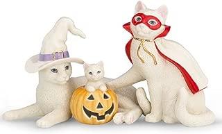 Family's First Halloween Feline 3-piece Figurine Set By Lenox