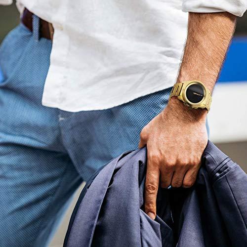 MyKronoz Smartwatch Gold, größe l, MYKZETIMELITELGDMT