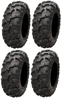 Full set of ITP Blackwater Evolution 28x10-14 ATV Tires (4)