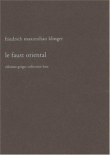 Le Faust oriental (Lenz)