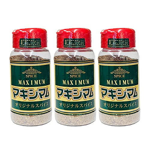 [中村食肉] 魔法のスパイス マキシマム (ボトル140g×3本) 万能調味料/ミックススパイス
