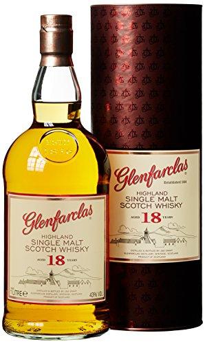 Glenfarclas 18 Years Old mit Geschenkverpackung  Whisky (1 x 1 l)