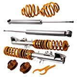 Tuningsworld Adjustable Suspension Coilovers Set para 3-Series E36 325i 325is Coupe 92-98