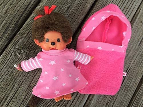 Puppenkleidung handmade für MONCHICHI Gr.20 Schlafsack Pucksack + Nachthemd NEU
