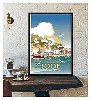 LMHベッドルーム装飾壁装飾ツーリズム世界旅行キャンバスポスターロンドンニューヨークポスタープリント壁アート装飾 (Color : IN018 13, Size (Inch) : 30X45cm Unframed)