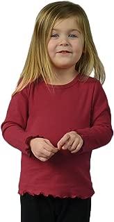 Monag Lettuce Edge Long Sleeve Toddler T-Shirt