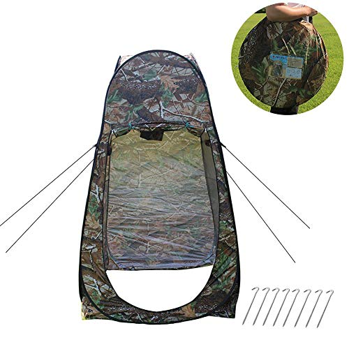 Why Choose Portable Outdoor Folding Pop-up Tent Camouflage Camping Shower Bathroom Toilet Privacy Ch...