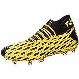 PUMA Future 5.1 Netfit FG/AG, Zapatillas de Fútbol Hombre, Amarillo (Ultra Yellow Black), 41 EU