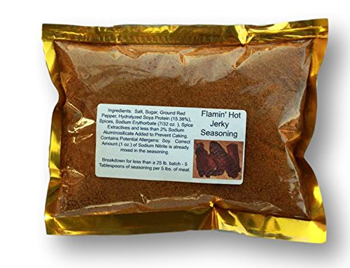 Ask The Meatman's Own Flamin' Hot!! Jerky Seasoning (Blend 53)