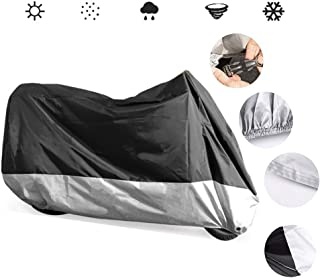 HWHCZ Compatible with Motorcycle Cover BMW G 310 GS,190T Oxford Cloth Waterproof Motorbike Cover,Provides 24/7 Protection Indoor/Outdoors Vehicle Covers (Color : B, Size : 2018)