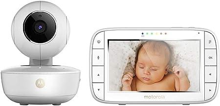 Motorola MBP 55 - Vigilabebés Portátil vídeo con pantalla