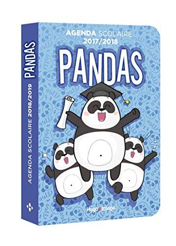 Agenda scolaire 2018-2019 Panda