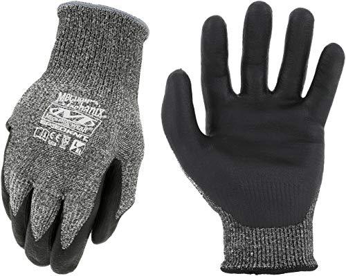 Mechanix Wear: SpeedKnit C3 Work Gloves (Large/XLarge, Black)