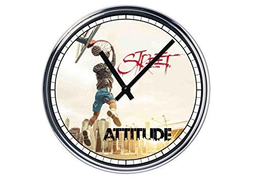 Reloj de Partete de acero Baloncesto Street Attitude