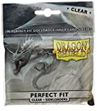 Dragon Shield Standard Sideloading Sleeves - Clear/Clear (100 Sleeves) -