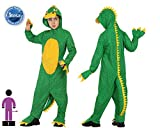 Atosa - Disfraz de lagarto para niño, talla 7-9 años (23914)