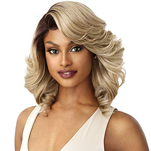 Outre Swiss Lace Front L-Part 5' Deep Parting Wig BRANDI (DR4/SDBL)